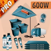 Indoor Cultivation Kit Coco 600W - PRO