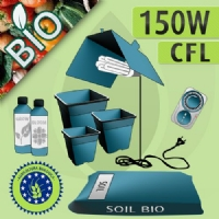 Indoor Cultivation Kit Soil 150W CFL - Organic