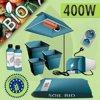 Indoor Cultivation Kit Soil 400W - ORGANIC