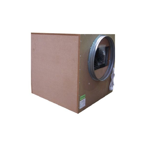 SonoBox Bois Covered Aspirator 55x55cm 2-entries-250/315cm - 2500 M3/H