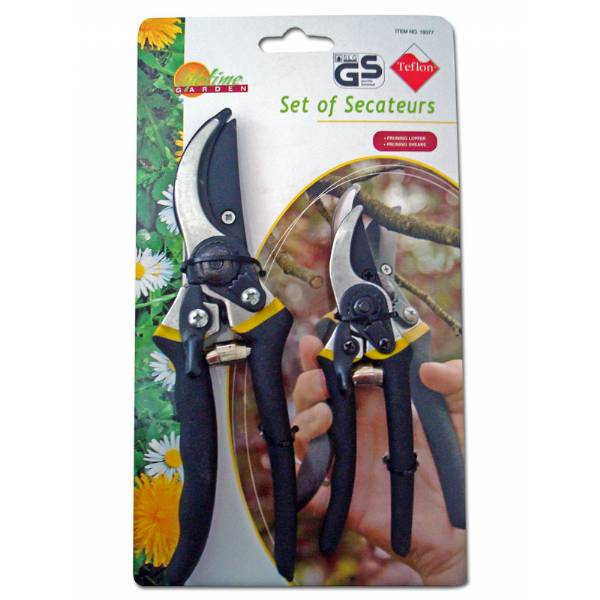 Pruning Shears  - 2 pairs Set