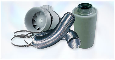 Extraction Kits with carbon filters