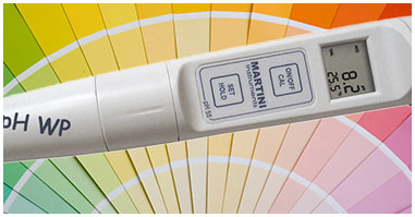 pH tester monitor