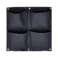 Hanging modular felt pot - 4 pockets
