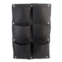 Hanging modular felt pot - 6 pockets