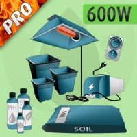 Indoor Grow Kit Soil 600w - PRO