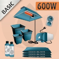 Indoor Cultivation Kit Coco 600W - BASIC