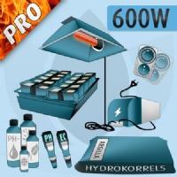 Hydroponic Indoor Kit 600W Pro