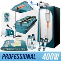 Indoor Hydroponic Kit 400w + Grow Box - PRO