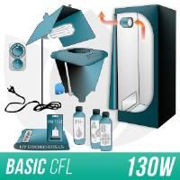 Indoor Hydroponic Kit 150w + Grow Box - CFL