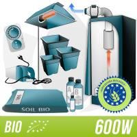 600W Organic Kit + Complete Indoor Grow Box
