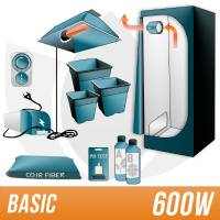 600W Coco Kit + Grow Box - BASIC