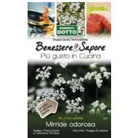 Sweet Cicely Seeds (Myrrhis Odorata) by Sementi Dotto
