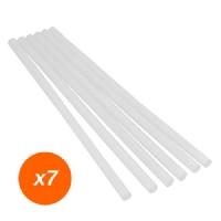 Hot Mealt Glue Sticks  -19x1cmx7 sticks