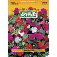 Busy Lizzie (Impatiens walleriana) mix - Gold Seeds by Sementi Dotto 0.1gr