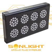 Led Apollo PLUS Hyperled Sonlight 8 (128x3w) 384W - Agro