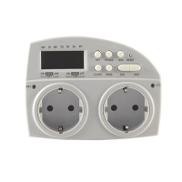 Digital Timer STEP 1min - 3600W - 2Channels