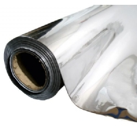 Mylar - Silver reflective sheeting 25 x 1,3mt