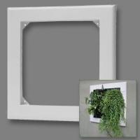 Flowall white square 42x40cm