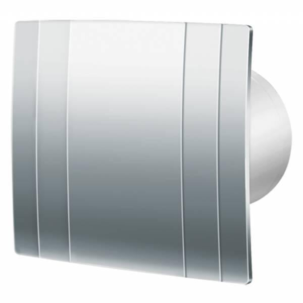 Chrome Bath Fans : Extractor fans blauberg quatro chrome m h