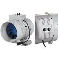Blauberg Bi-Turbo 10cm + cable - 187m³/h + thermostat