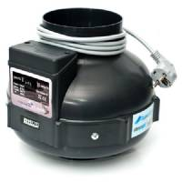Extractor Fan Prima Klima PK125 – Bi-Turbo, diam. 125, EMS, 220mc/h/360mc/h