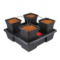 4 Pot Hydroponic System Wilma (11L Pot)