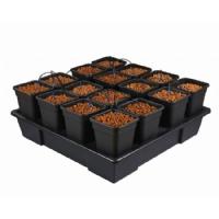 Wilma 16 Pot Hydroponic System (11L Pot)