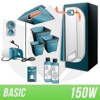 Indoor Soil Kit 150w + Grow Box - BASIC
