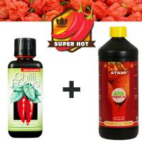 Nutrients Chilli Grow Kit  - Spicey and flavoury hot fruits