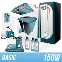 Indoor Hydroponic Kit 150w + Grow Box - BASIC