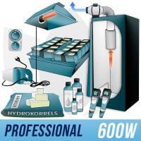Indoor Hydroponic Kit 600w + Grow Box - PRO