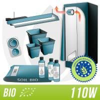 Organic Kit 110W + Complete Grow Box With Neon