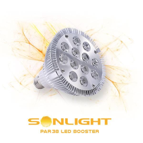 Sonlight Par38 Led Grow Booster 6400k 176 16w E27