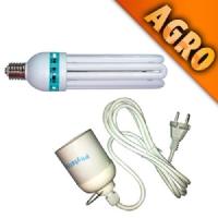 125W CFL Kit + Wire + Lamp Socket E40
