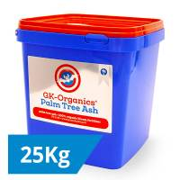 GK Organics - Palm Tree Ashes 25Kg