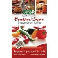 Chilli Pepper Mix Seeds (Capsicum Annuum) by Sementi Dotto