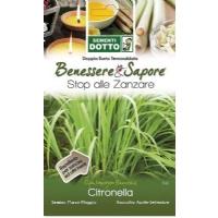 Lemongrass Seeds (Cymbopogon Flexuosus) by Sementi Dotto