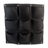 Hanging modular felt pot - 9 pockets