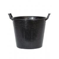 Bucket with handles 110L 66x60x50cm