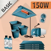Indoor Cultivation Kit Coco 150W - BASIC