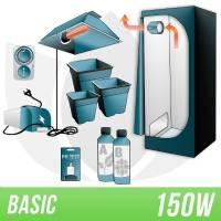 Indoor Soil Kit 150w + Grow Box - BASIC