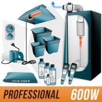 600W Coco Kit + Grow Box - PRO