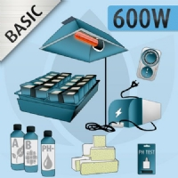 Hydroponic Indoor Kit 600W Basic