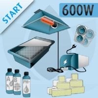 Hydroponic Indoor Kit 600W - START