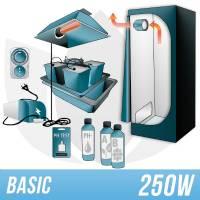 Indoor Hydroponic Kit 250w + Grow Box - BASIC