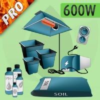 Indoor Grow Kit Soil 600w - PRO