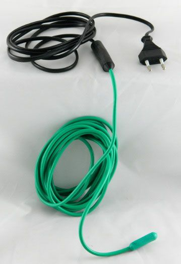 Soil Heating Cables : Soil heating cable mt w thermostat for