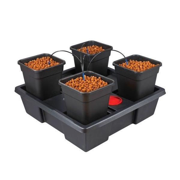 Indoor Hydroponic Kit 250w Set Up Grow Box Basic