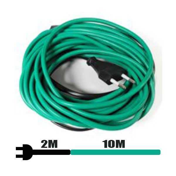 Soil heating cable - 12mt - 60W + Thermostat for heating cables and ma